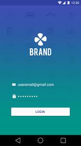 Login Screen Design Android Pin On App Design
