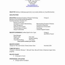 Merchandising Resume Examples Gorgeous Retail Visual Merchandiser Cover Letter Research Paper Academic