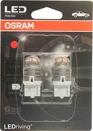 <b>Лампа</b> автомобильная <b>Osram W21W</b> (W3*16d) <b>LED</b> Premium Red ...