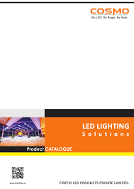 Cosmo Lighting Catalogue Cosmo Led Product Profile