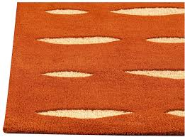 orange area rug  cievi – home