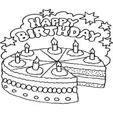 Kleurplaat Verjaardag Page 1 Voyceeu