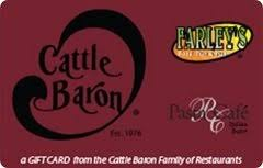 Cattle Baron Restaurant Gift Card ($25): Gift Cards - Amazon.com