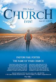 Free Church Flyer Templates In Psd | By Elegantflyer