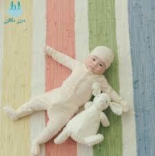 Bộ quần áo cài thẳng sơ sinh little love – Gia Phú Baby