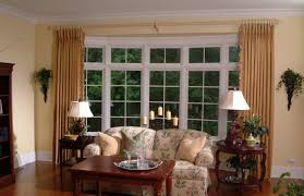 Alluring Bay Window Decorations Beautiful With Glass And Butterfly
