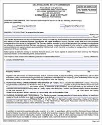 Land Contract Agreement Fascinating 44 Sample Land Contract Agreements Sample Templates