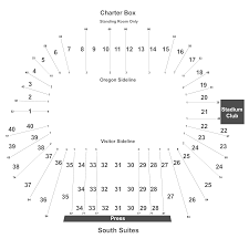 Oregon State Football Seating Chart Oregon State Beavers At Oregon Ducks Football Tickets