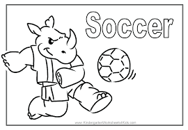 Printable Soccer Coloring Pages At Getdrawingscom Free For