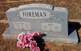 Julia Inez Yates Foreman (1907-1999) - Find A Grave Memorial