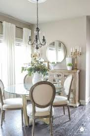 updated breakfast nook a lighter brighter look kelley nan round br mirror over br mirrordining room