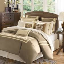 image of beige bedding king color