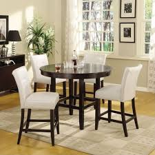 amazing counter height round dining table set 3 oval counter height dining table 48