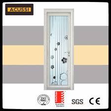 china modern design high class bathroom toilet kitchen aluminium casement glass front door china aluminium door toilet door