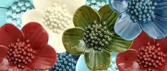 ceramic flower wall art on 3d ceramic flower wall art with ceramic flower wall art ceramic wall flowers flowers ceramic flower