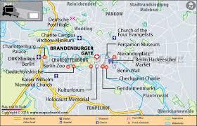 about brandenburg gate in berlin map, facts, location, best time Berlin Sites Map brandenburger gate location map berlin tourist sites map