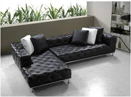 Sectional Sofa Design Top Ten Leather Sectional Sofa Bed Black