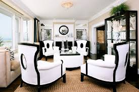 black and white modern furniture. Elegant Art Deco Furniture In Black And White Contemporary Interior Space Dream Home Modern W