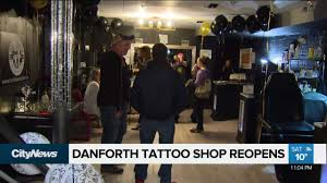 Danforth Tattoo Shop That Saved Lives Reopens