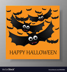Halloween Gift Cards Halloween Gift Card With Flying Bats
