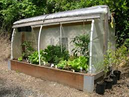 how to make a raised bed garden. Raised Bed Cloche. (Photo By Sam Anigma.) How To Make A Garden I