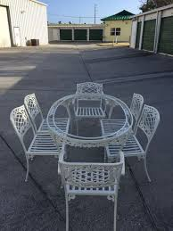 vintage brown jordan aluminum patio set