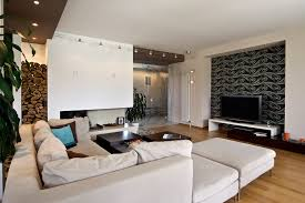 interior design living room contemporary. Living Room, Modern Room Designs Furniture Long White Sofa On A Wooden Interior Design Contemporary I