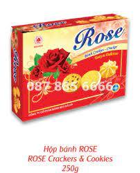 Bánh hộp giấy Rose - Quà Tết Hải Hà