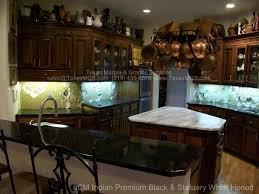 3cm indian premium black granite statuary danby honed marble countertops