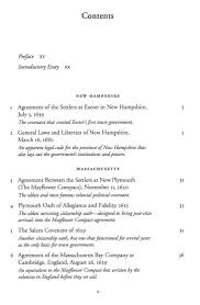 colonial origins of the american constitution a documentary original table of contents or first page