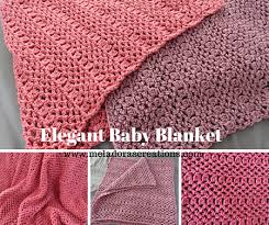 Free Crochet Blanket Patterns Enchanting Elegant Baby Blanket Free Crochet Pattern Meladora's Creations
