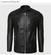 biker leather jacket men pu leather suede jacket male aviator flight suit black biker clothing slim zipper motorcycle punk style