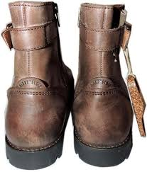 birkenstock brown leather stowe ankle booties flat boots shoes 38