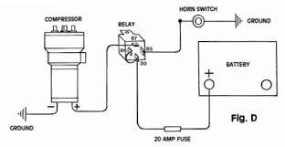 air horn wiring diagram air image wiring diagram