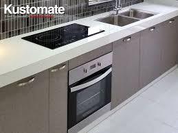 concrete kitchen countertops with melamine cabinets kitchen sink