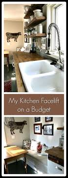 Kitchen Facelift My Kitchen Facelift On A Budget Cardio Coffee And Kale