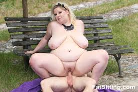 Fat Sitting BBW Rebecca Tortures Her Submissive Slave 422386.