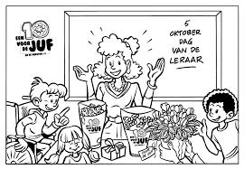 Bedankt Juf Kleurplaat Kleurplaat Vor Kinderen 2019 In Kleurplaat