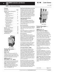 8 A200 Nema Contactors And Starters A200