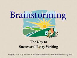 brainstorming brainstorming the key to successful essay writing 2 brainstorming brainstorming 3 brainstorming the key to successful essay writing