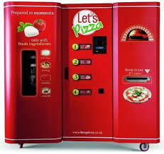 First Vending Machine Gorgeous World's First Pizza Making Vending Machine Q48 ALL IN ONE The Blog
