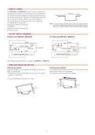 Tuning Chart Manual Oper