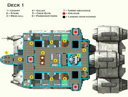3D Floor Plans For House U2013 3D Architectural RenderingSpaceship Floor Plan