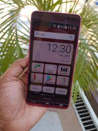 New Sharp Aquos Crystal 2 16 GB Red in ...