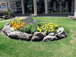 Decorative Stones For Flower Beds Rock Garden Bed Alices Garden