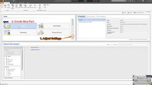 autodesk inventor tutorial installation and setting up