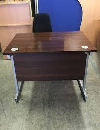 walnut office furniture. Used Walnut 1200mm Office Desk Furniture