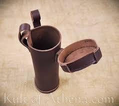 leather bottle holder dark brown leather bottle holder dark brown