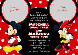 mickey and minnie invitation templates minnie mouse birthday invitations ideas bagvania free