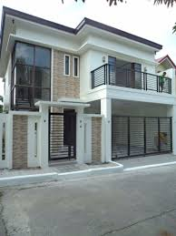 Terrace Designs For Small Houses In The Philippines Dream House Exteriores De Casas Modernas Diseño Para El